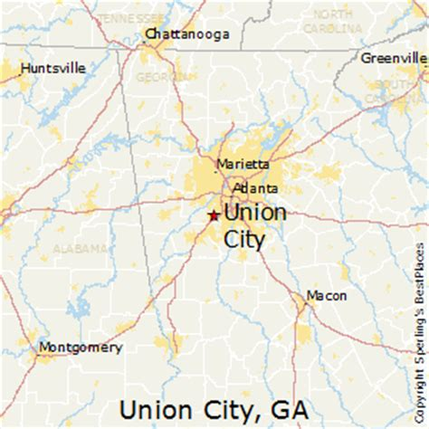 union city georgia map best places to live in union city georgia