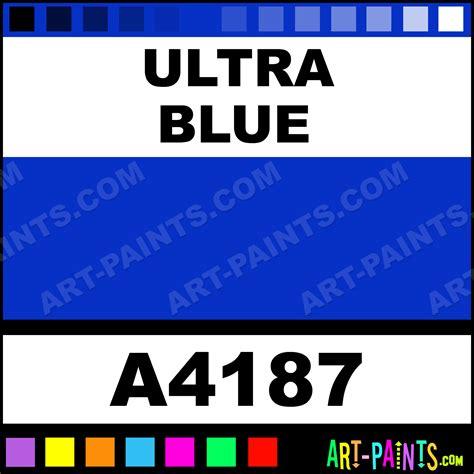 ultra blue artist acrylic paints a4187 ultra blue