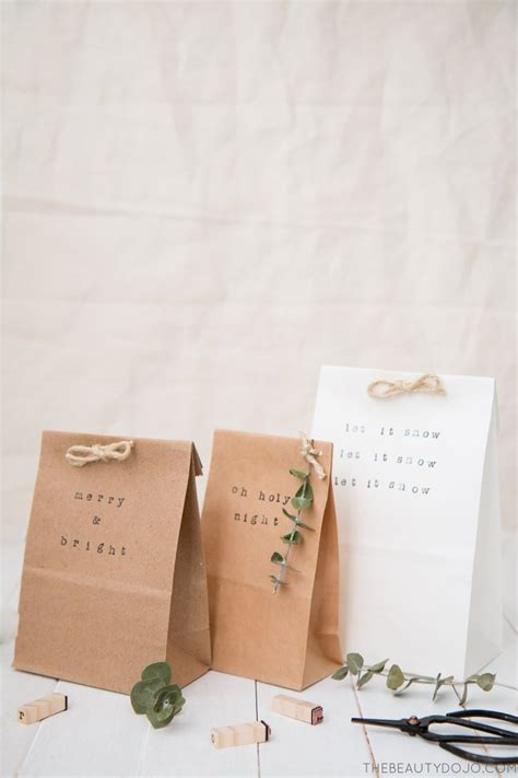 revisiting the basics stylish ways to wrap gifts in brown