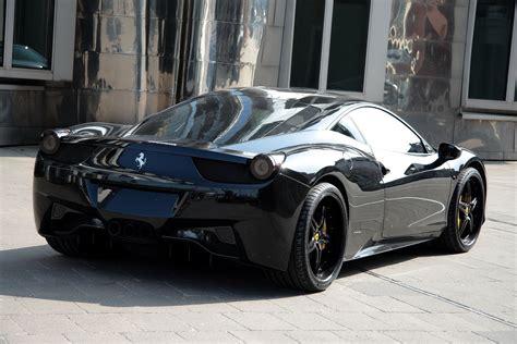 ferrari modified ferrari 458 black carbon edition is darth vader s supercar