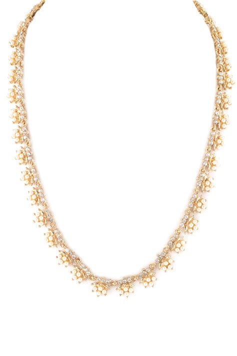 Faux Pearl Necklace faux pearl and necklace necklaces