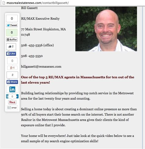 3 Tips To Get Leads With The Perfect Real Estate Agent Bio New Real Estate Bio Template