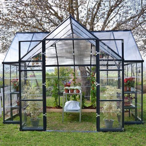 green house kits palram garden chalet greenhouse hobby greenhouse kits greenhouse megastore
