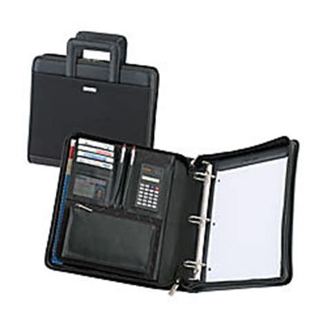Office Depot Zipper Binder Office Depot Brand 3 Ring Binderorganizer Black By Office