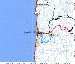 map of newport oregon newport oregon or 97365 97366 profile population