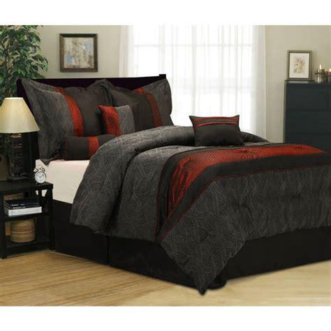 walmart bed set corell 7 piece bedding comforter set walmart com