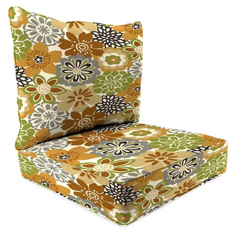 Sears Patio Furniture Replacement Cushions 2 Seat Chair Cushion In Camilla Maple