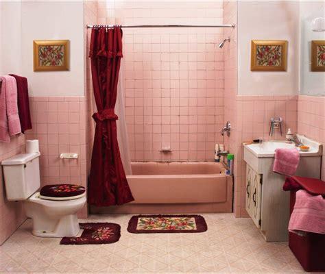 Black and pink bathroom decor image of cute bathroom curtain ideas 5pc bathroom accessory set