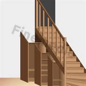 plan de placard 224 rangement sous escalier bricolage
