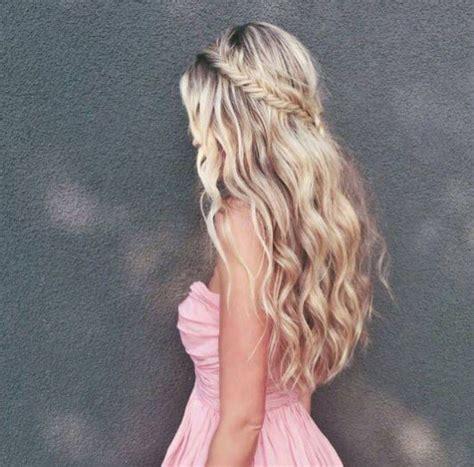 Frisuren Lange Haare Halboffen by 45 Besten Locken Frisuren F 252 R Lockiges Haar Bilder Auf