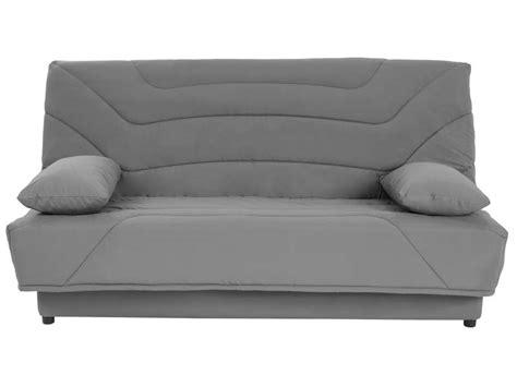 housse de canapé conforama housse pour clic clac prima 130 cm prima coloris gris