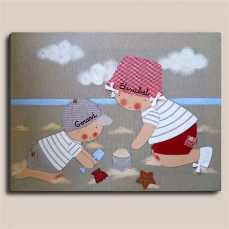 cuadros al oleo infantiles cuadro infantil ni 241 os playa cuadros oleo pinterest