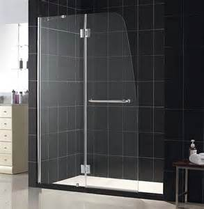 Alternatives To Glass Shower Doors Aqua Plus Shower Door Frameless Shower Door By Dreamline Hinged Shower Doors