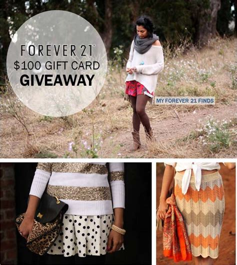 Forever 21 Gift Card Giveaway - like fresh laundry