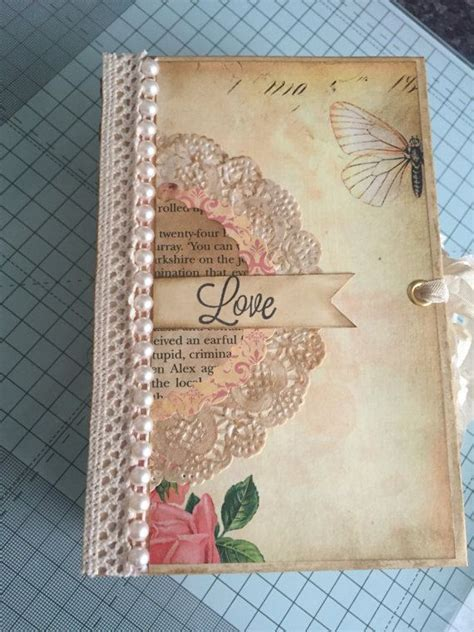 Handmade Journal Ideas - 17 best ideas about vintage journals on