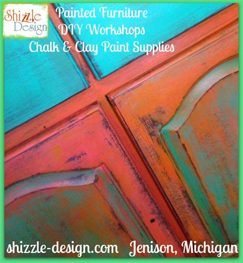 shizzle design buy american paint company retailer michigan chalk clay turquoise orange