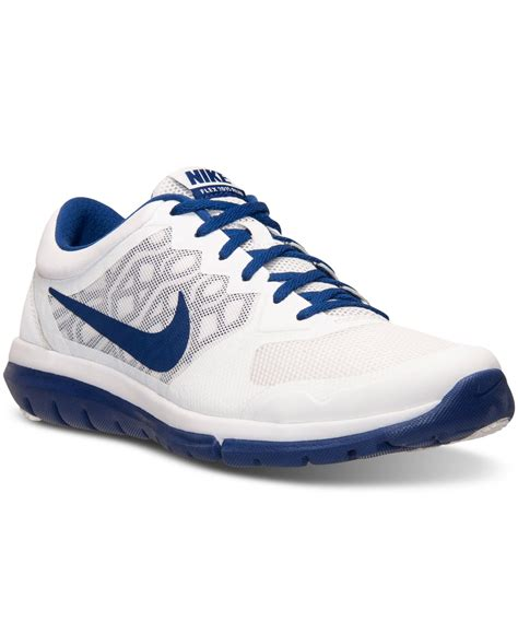 nike running sneakers for lyst nike s flex run 2015 running sneakers from