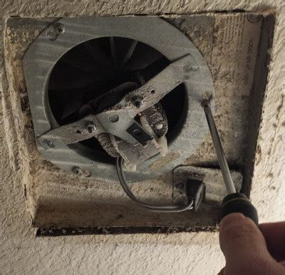 replacing bathroom exhaust fan motor how to replace a noisy or broken bathroom vent exhaust fan