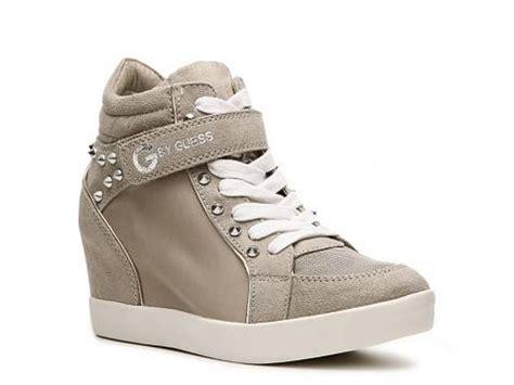 wedge sneakers dsw g by guess popstar wedge sneaker dsw