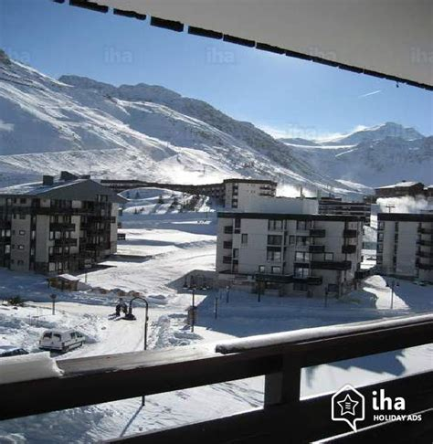 tignes appartments flat apartments for rent in tignes le lac iha 39004