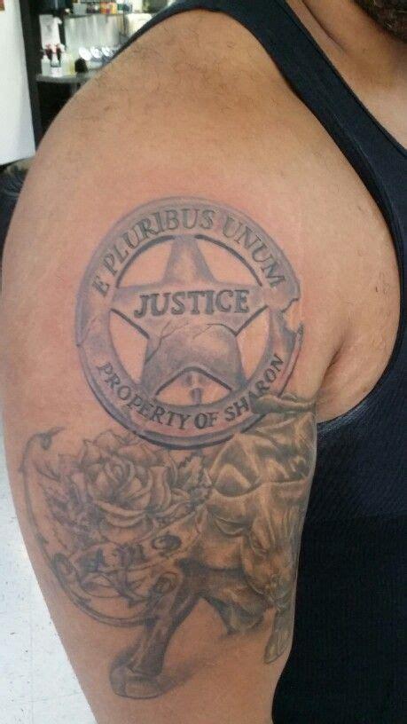 police badge tattoo sheriff badge my 2014