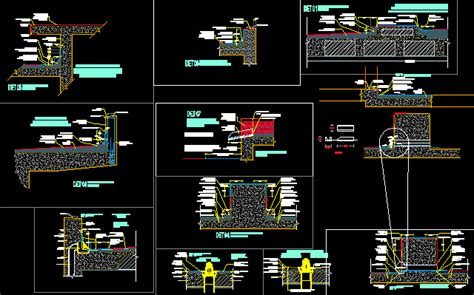 water proofing details in autocad cad download 25343