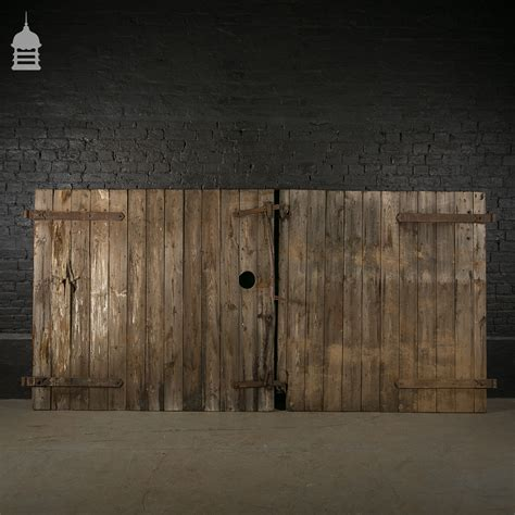 large barn doors large pair of ledged and braced barn doors with