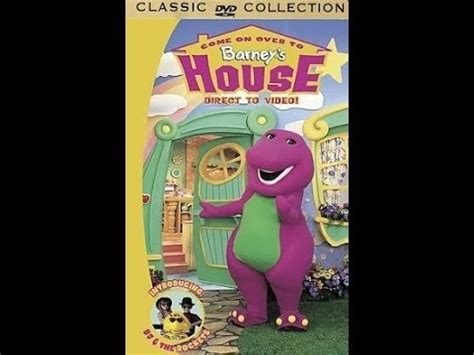 barney s house come on over to barney s house 2000 vhs youtube