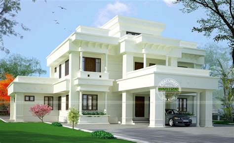 Home White Modern White Home Design Architecture And