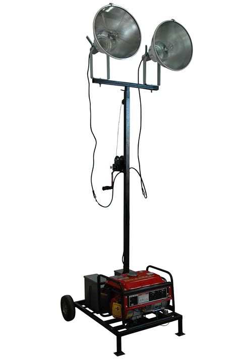portable sports field lighting larson electronics announces release of fully portable