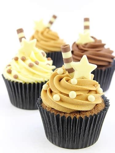 Chocolate Cupcake Decorations by Callebaut Salted Caramel Chocolate Pearls Crispearls