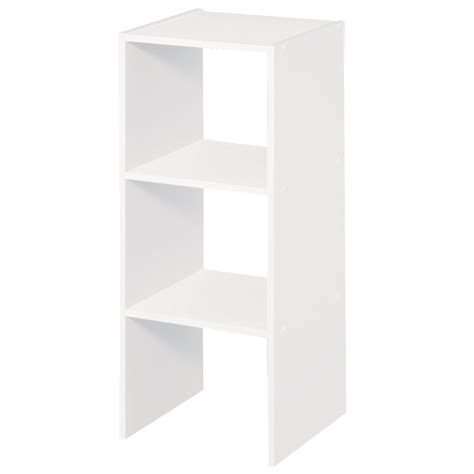 Closetmaid Laminate Storage Shop Closetmaid 12 In White Laminate Stacking Storage At