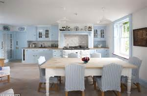 Modern Blue Kitchen by Sacre Bleu French Style Chateau That Wouldn T Look Out Of
