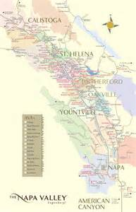 map of california wineries wine map of the napa valley napa valley wineries