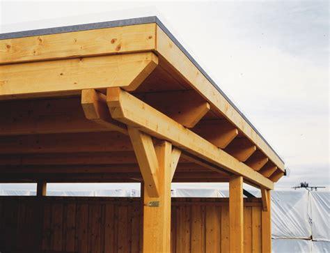 konstruktion carport holz carport bausatz skanholz 171 emsland 187 flachdach
