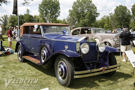 picture of 1930 rolls royce springfield phantom i by brewster