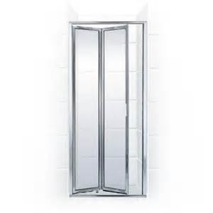 folding glass shower doors coastal shower doors paragon series 33 in x 71 in framed