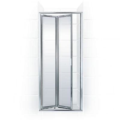 Homedepot Shower Doors by Coastal Shower Doors Paragon Series 32 In X 71 In Framed Bi Fold Hinged Shower Door In
