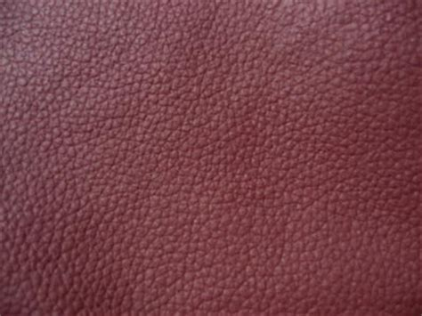 Burgundy Leather by Burgundy Leather Ottoman Cover