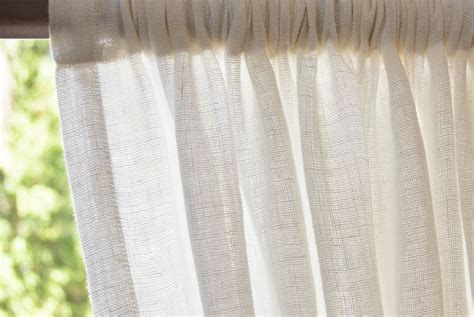 open weave drapes open weave curtains tutorial