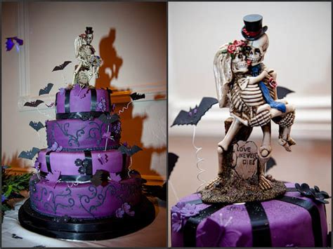 halloween wedding cake 0002 · Rock n Roll Bride