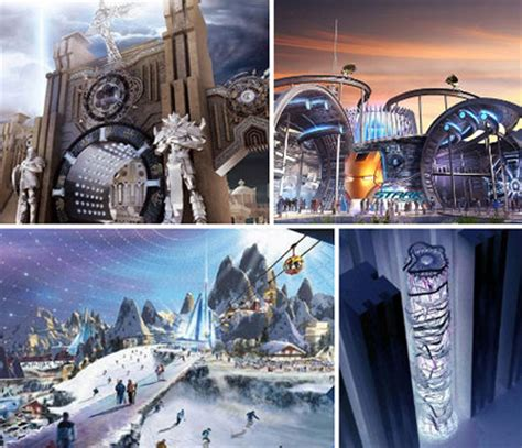 12 futuristic theme park concepts rides that are out of