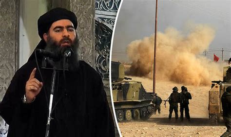 abu bakr al baghdadi isis leader al baghdadi flees iraq for syria in yellow