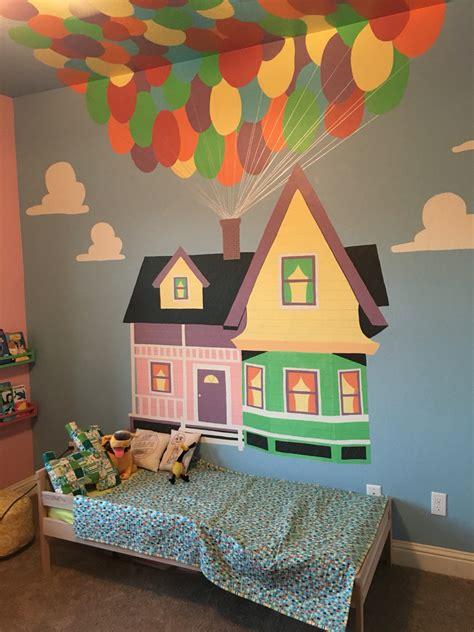 room theme ellie s pixar up themed nursery turned big room repainted at our new house nursery