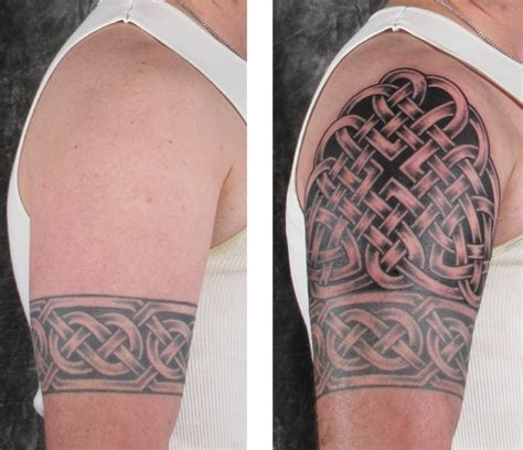 upper arm half sleeve tattoo designs various celtic designs half sleeve
