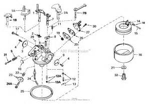 tecumseh ca 632333 parts diagram for carburetor