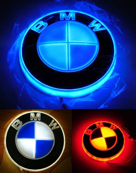 glowing bmw emblem 1000 ideas about led logo on channel letter