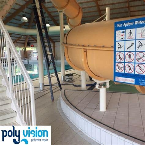 polyester boot onderhoud onderhoud reparatie polyester waterglijbaan2 polyester