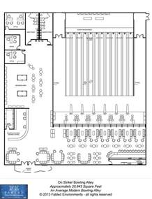 bowling alley floor plans modern floorplans an average modern bowling alley