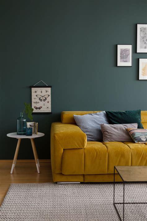 Wandfarbe Grün Kombinieren by Erdton Wand Schlafzimmer